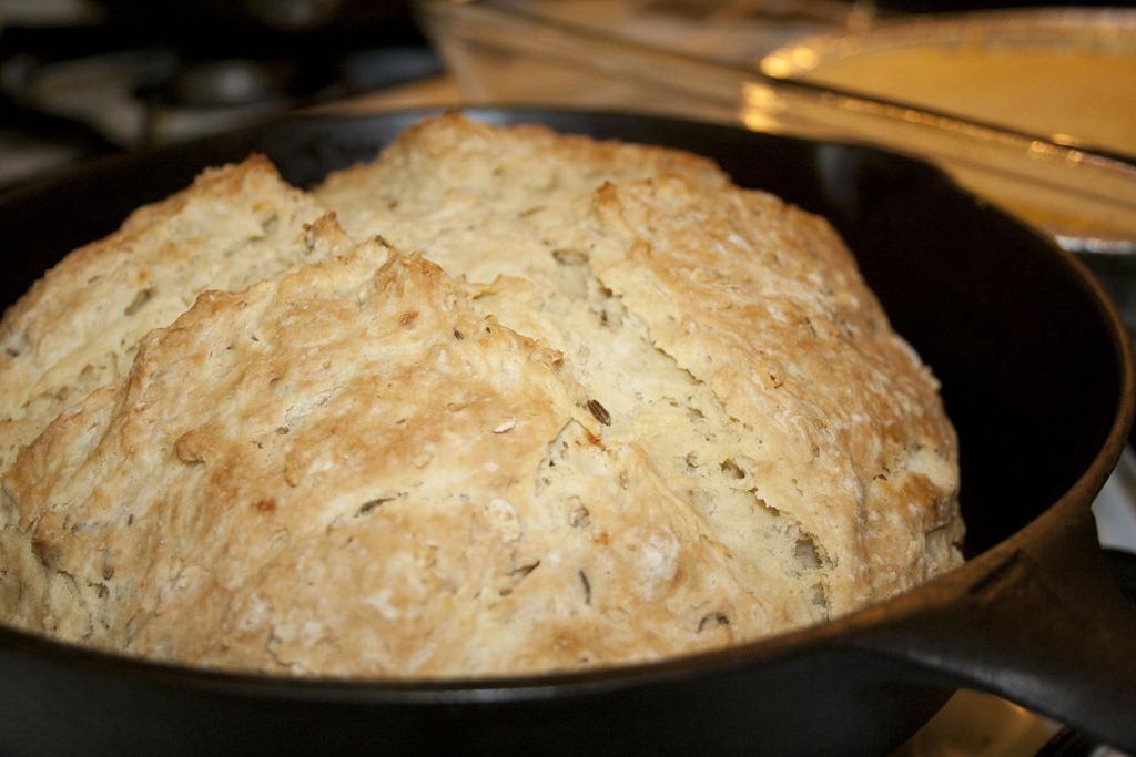 Irish Soda Bread with Caraway Seeds | Food Snob 2.0