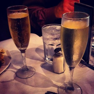 A Champagne Toast