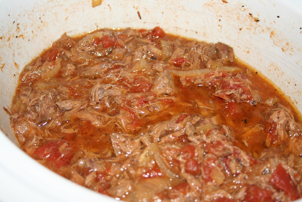 how to cook braised beef in slow cooker