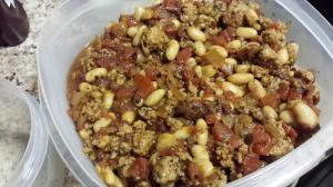 sausage cannelini tomato ragout